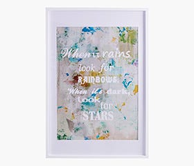 """RYNDAL Picture Frame 24x36"""" (White)"""