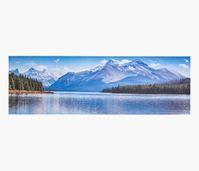 PRINTS Lake 45 x 140 x 3 cm