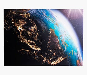 Earth 100 x 140 x 3 cm