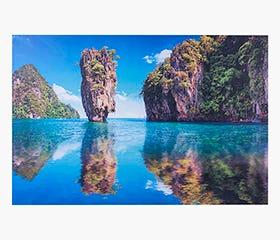 PRINTS Khao Phing Kan Island 120x80cm
