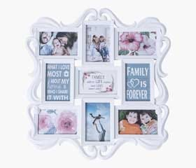 SNORRE 9-Photo Collage Frame (White)