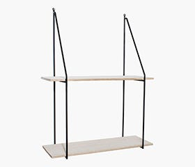 SIGMUND Shelf (2 Tier)