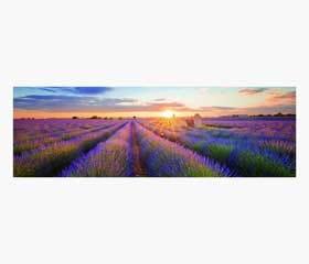toile imprimée lever de soleil