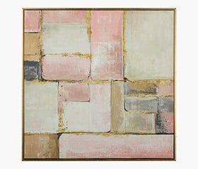 HANDPAINT Pink Brick