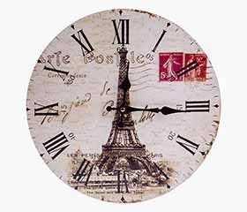 ALE Wall Clock Paris