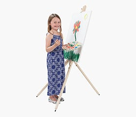 ARTICO Easel w/Carry Bag (Natural)