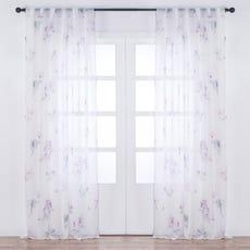 YRSA Printed Sheer Curtain Panel