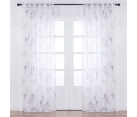 YRSA Printed Sheer Curtain Panel