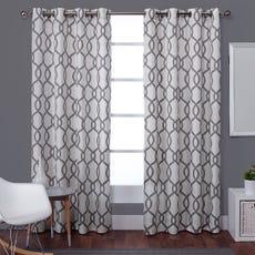 KOCHI Curtain - 1 Panel (Black Pearl)