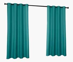 Rideau Extérieur CABANA (Bleu Sarcelle)