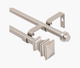 NOUVEL Double Rod Kit - 122-218cm