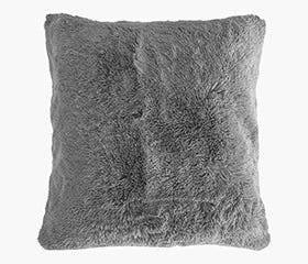 grey floor pillow