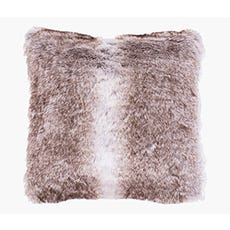 faux fur floor cushion