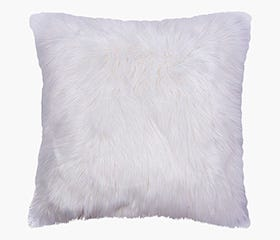white floor cushion