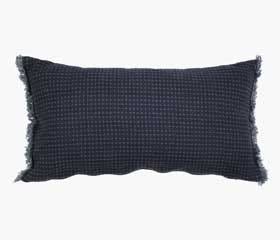 OXEL throw pillow indigo