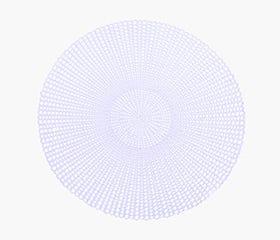 KATLA Round Placemat (White)