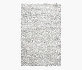 DOLCE Shag Rug 5x7' (White)