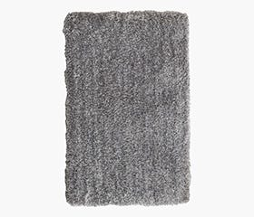 BIRK Shag Rug 160x230 cm (Light Grey)