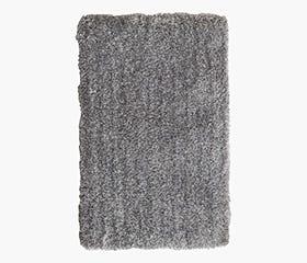 BIRK Shag Rug 160x230 cm (Light Grey)