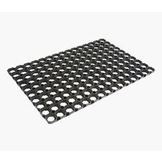 black doormat