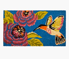 HUMMING BIRD Coir Door Mat