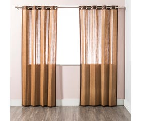 BECKY Bamboo Curtain - 1 Panel