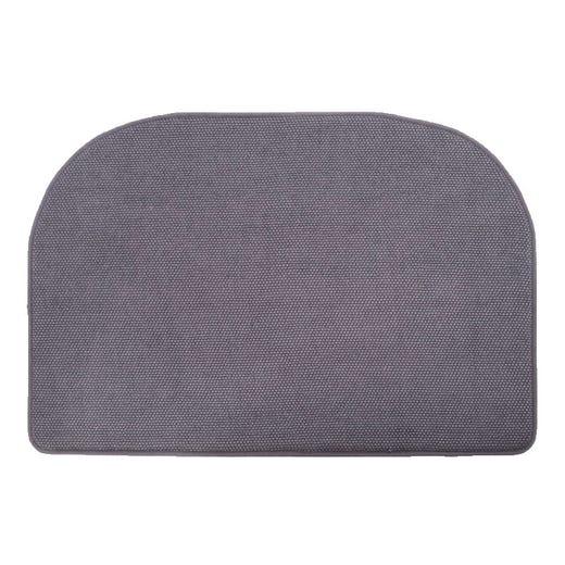 grey kichen mat