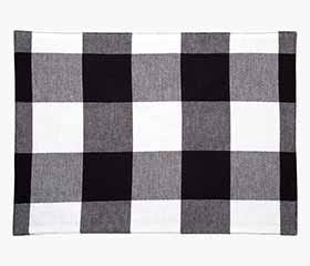 BUFFALO CHECK Placemat (Black/White)