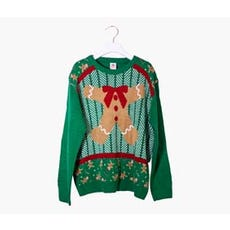 GINGERBREAD BODY Ugly Holiday Sweater