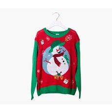 CHRISTMAS SNOWMAN Ugly Holiday Sweater