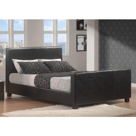 HOFBURG King Bed Frame - Black