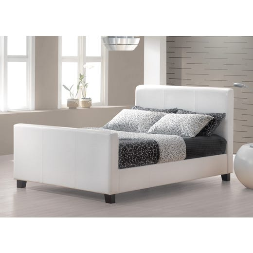 HOFBURG Queen Bed Frame - White