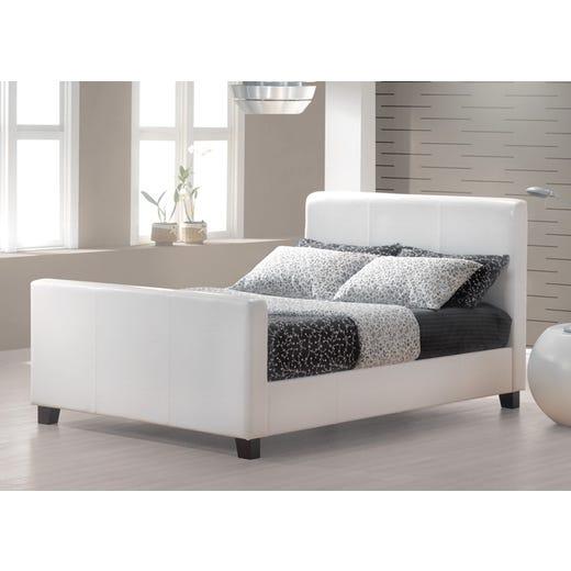HOFBURG King Bed Frame - White