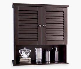 HANNA 2 Door Wall Cabinet (Espresso)