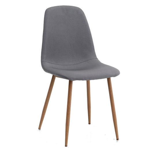 JONSTRUP Dining Chair (Grey & Oak)