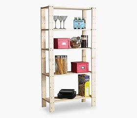 PINE Utility Unit (5 Shelf)