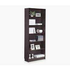DANNY Bookcase Tall (Dark Brown)