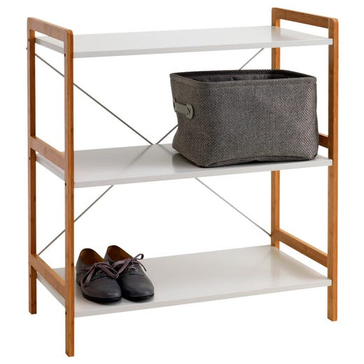 BROBY Shelving Unit (3 Shelves)