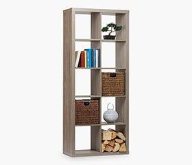 STAVANGER Wide Bookcase (San remo)