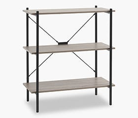 VANDBORG 3 Tier Bookcase