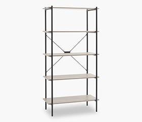 VANDBORG 5 Tier Bookcase