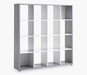 HALDAGER 16 Shelf Bookcase