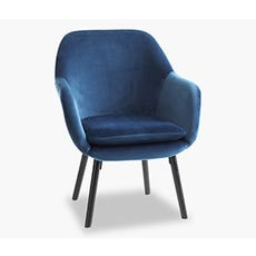 UDSBJERG Casual Armchair (Blue)