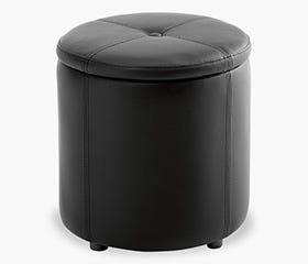 pouffe with storage