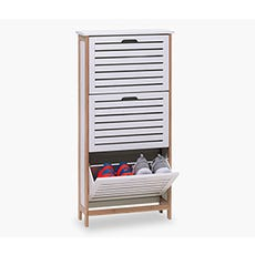 BROBY 3 Door Shoe Cabinet