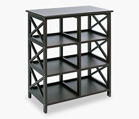 DINA 6 Shelf (Black)
