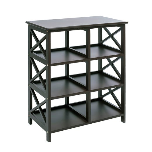 DINA 6 Shelf (Black)