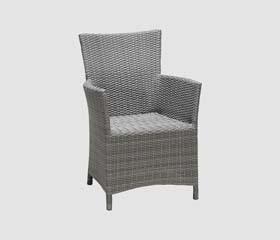 black summer patio chair
