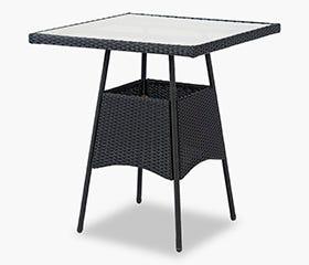 BAR Patio Table (Black)