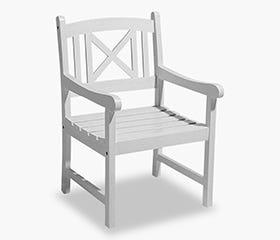 HVIDE SANDE Armchair (White)